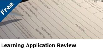 Learning Application Review