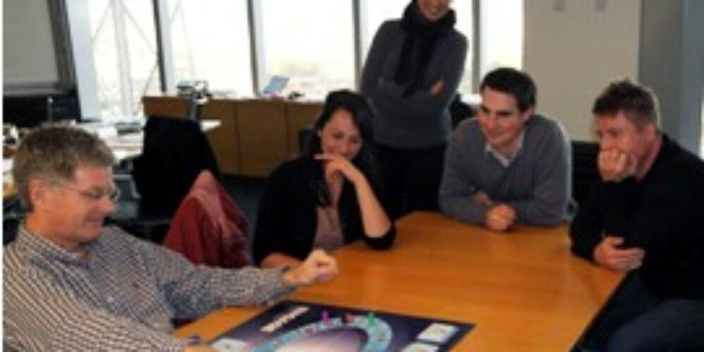 Sales skills board game